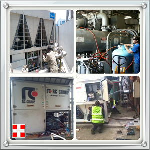 Service AC Chiller